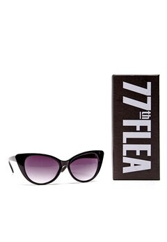 77thFLEA Kat sunglasses Black Bubbleroom.se