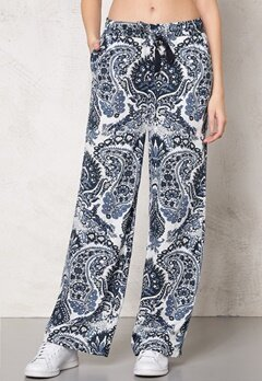 77thFLEA Antalya trousers Blue Print Bubbleroom.se