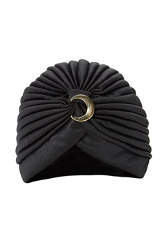 77thFLEA Charleston turban Black Bubbleroom.se