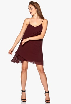 77thFLEA Lagos dress Wine-red Bubbleroom.se