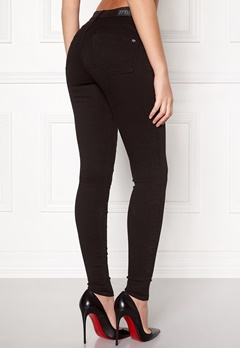 77thFLEA Miranda Push-up jeans Black Bubbleroom.se