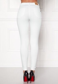 77thFLEA Miranda Push-up jeans White Bubbleroom.se