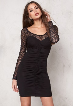 77thFLEA Sahara lace dress Black Bubbleroom.se