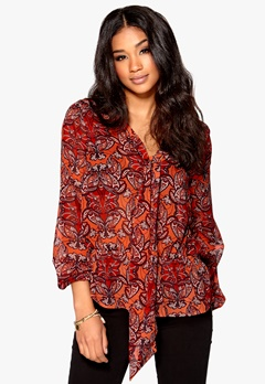 Happy Holly Blus Orange/Paisley Bubbleroom.se