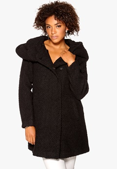 VILA Cama Favored Coat Black Bubbleroom.se