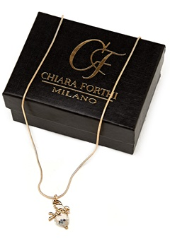 Chiara Forthi Guardian Angel Necklace Gold-coloured Bubbleroom.se