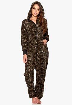 Happy Holly Jumpsuit Leopard Bubbleroom.se
