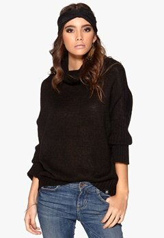 77thFLEA Bern sweater Black Bubbleroom.se