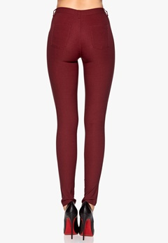 Chiara Forthi Megastretch Highrise Skinny Bordeaux Bubbleroom.se