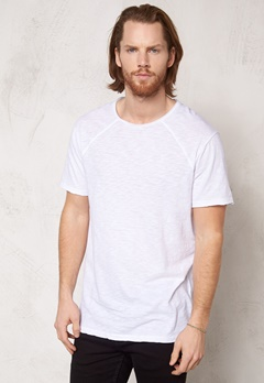 Solid Adam T-shirt 0001 White Bubbleroom.se