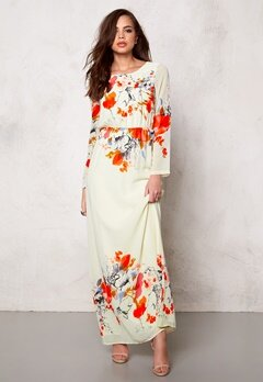 DRY LAKE Afternoon Long Dress Poppy Print Bubbleroom.se
