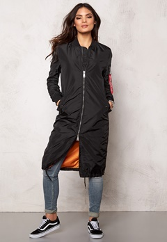 Alpha Industries MA-1 TT coat Black Bubbleroom.se
