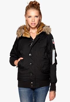 Alpha Industries Polar Jacket Black 03 Bubbleroom.se