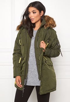 Alpha Industries PPS N3B Jacket Dark Green Bubbleroom.se