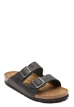 Birkenstock Arizona Black Oiled Bubbleroom.se