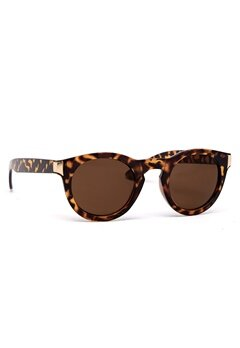Rut & Circle Bella Sunglass Brown/Gold Bubbleroom.se