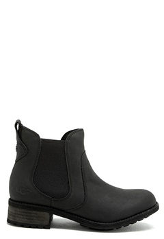 UGG Australia Bonham Leather Boots Black Bubbleroom.se