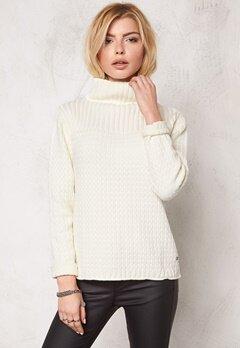 Boomerang Sänna O-Neck Sweater 001 Offwhite Bubbleroom.se