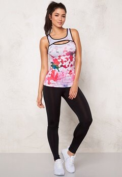 BUBBLEROOM SPORT Force sport top White/Multi/Print Bubbleroom.se
