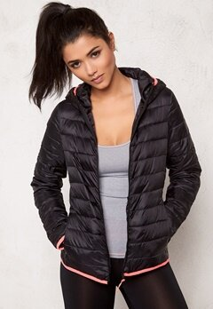 BUBBLEROOM SPORT Heat puffer jacket Black Bubbleroom.se