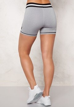 BUBBLEROOM SPORT Jumping biker tights Light grey melange Bubbleroom.se