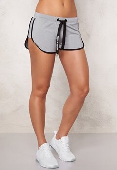 BUBBLEROOM SPORT Pump sport shorts Light grey melange Bubbleroom.se