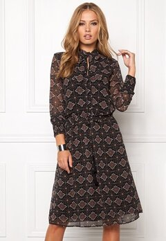 b.young Fandar Dress Mocha Bubbleroom.se