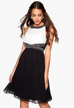 b.young Fern Dress Black Bubbleroom.se