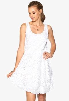 b.young Munir Dress 100 White Bubbleroom.se