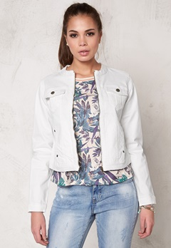 b.young Pullie Zip Jacket 80115 Off White Bubbleroom.se