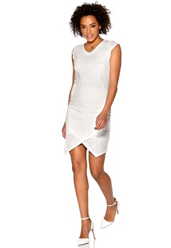 b.young Ragna Dress Off White Bubbleroom.se