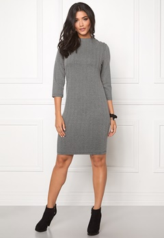 b.young Rumma Dress Med. grey melang Bubbleroom.se