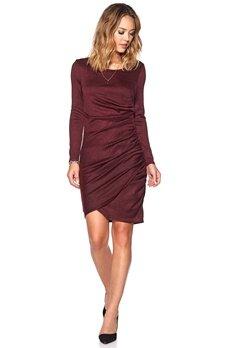 b.young Sunday Dress 80629 Royal Red Bubbleroom.se