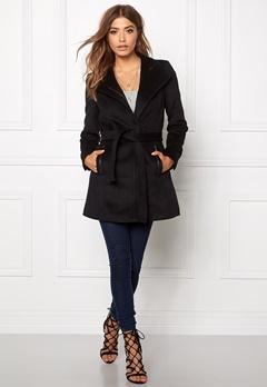 VERO MODA Call Rich 3/4 Wool Jacket Black Bubbleroom.se