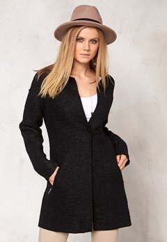 Culture Camassia Wool Jacket Black Bubbleroom.se