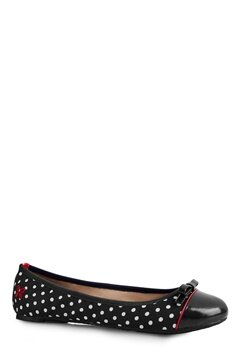 Butterfly Twists Cara Black/Wht Polka Dot Bubbleroom.se
