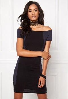 Make Way Carmela Dress Black&Blue Bubbleroom.se