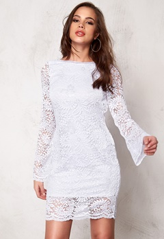 VERO MODA Celeb Mini Lace DressCeleb Mini Lace Dress Bright WhiteBright White Bubbleroom.fi