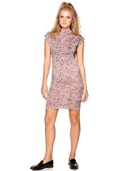CHEAP MONDAY Capsule dress TV fuzz Rose quartz Bubbleroom.se