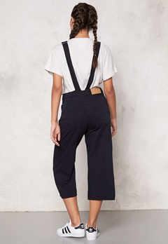 CHEAP MONDAY Later Dungaree Jeans Black Bubbleroom.se