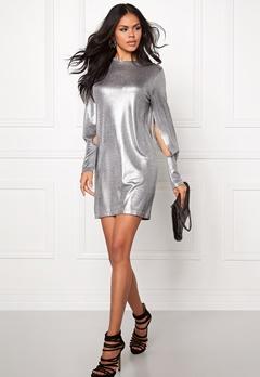 CHEAP MONDAY Sound Dress Silver Bubbleroom.se