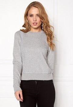 CHEAP MONDAY Swift Sweat Grey Melange Bubbleroom.se