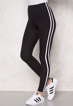 Chiara Forthi Chill leggings Black/White Bubbleroom.se