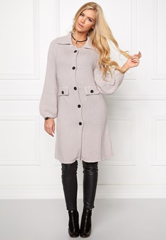 Chiara Forthi Cotton Knit Coat Ash Grey Bubbleroom.fi