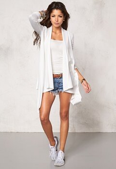 Chiara Forthi Dip Hem Cover-Up Cream Bubbleroom.se