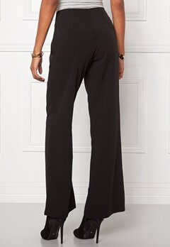 Chiara Forthi Eleganza Wide Pants Black Bubbleroom.se