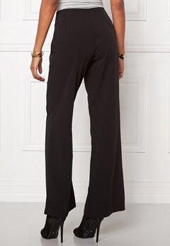 Chiara Forthi Eleganza Wide Pants Black Bubbleroom.se