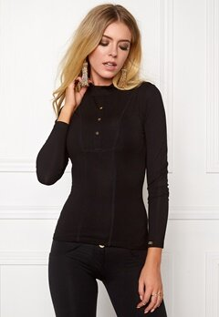 Chiara Forthi Equestrian Top Black / Gold Bubbleroom.se