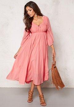 Chiara Forthi Flow Dress Blond Pink Bubbleroom.se
