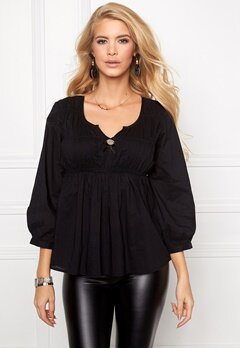 Chiara Forthi Flow Top Black Bubbleroom.se